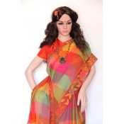 Cutwork Applique and  Patchwork sarees  (8)