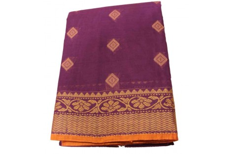 Kanjivaram Cotton Saree