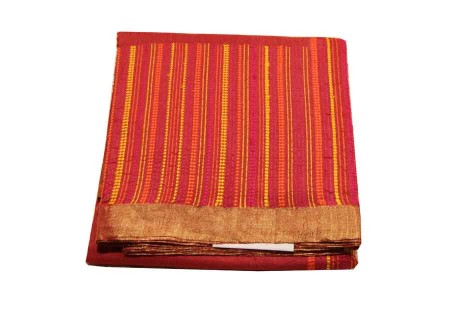 Tussar Cotton Saree